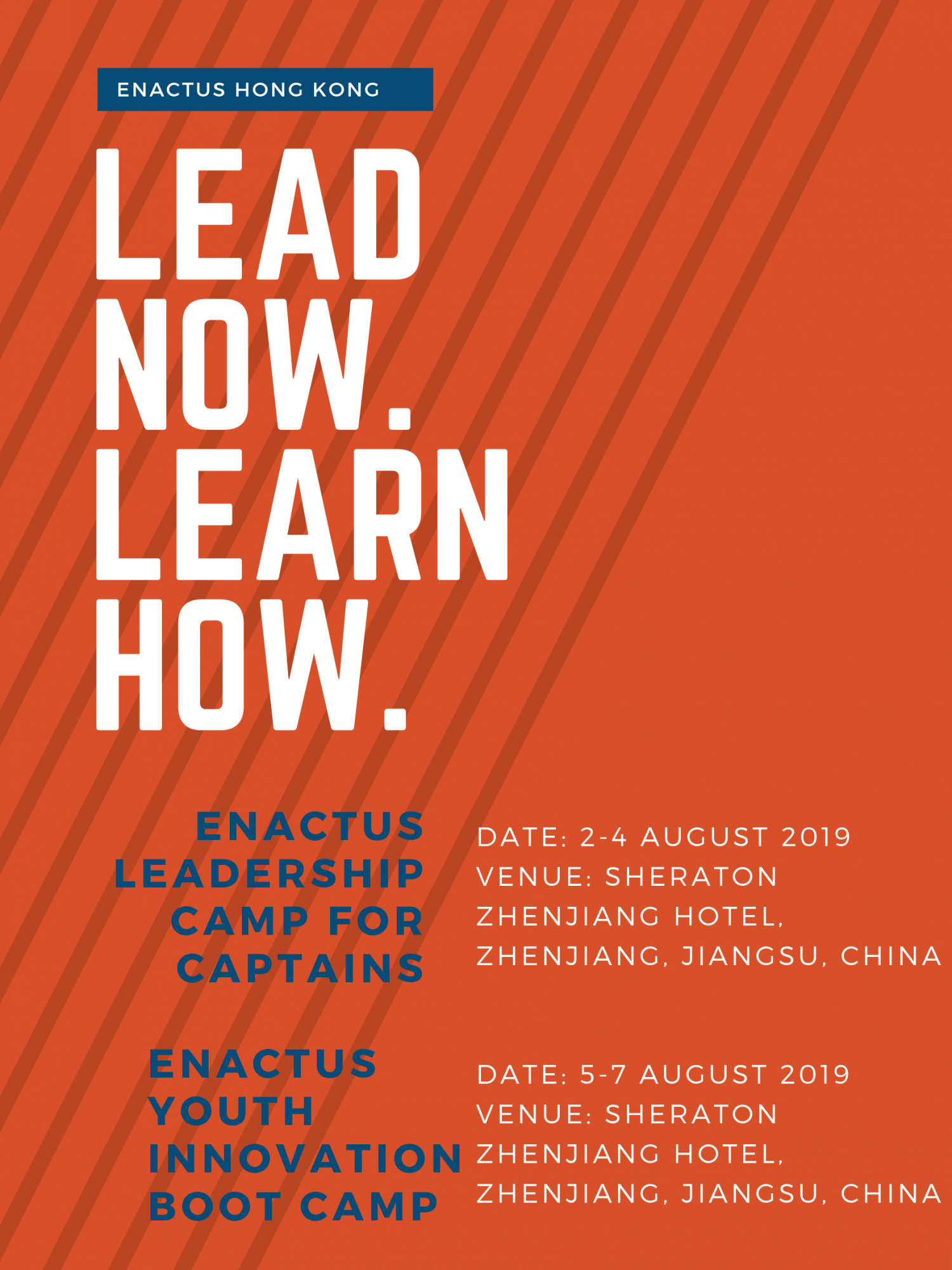Enactus Leadership Camp for Captains & Enactus Youth Innovation Boot Camp